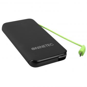NINETEC 10.000 mAh Powerbank externer Akku NT-610 Micro-USB