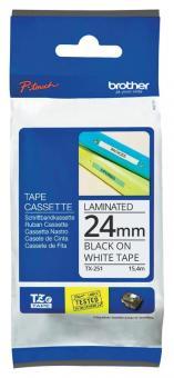 Original Brother Schriftbandkassette TX-251 24 mm