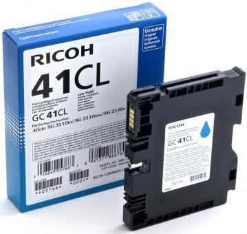 Original Ricoh Patronen GC 41CL 405766 Cyan